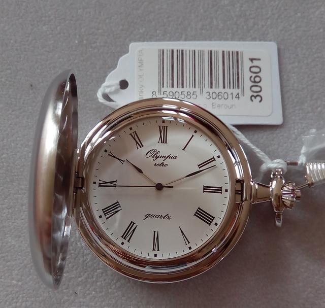Olympia kapesní hodinky 30601   Olympia hodinky   Ráj hodinek ... 662b375add